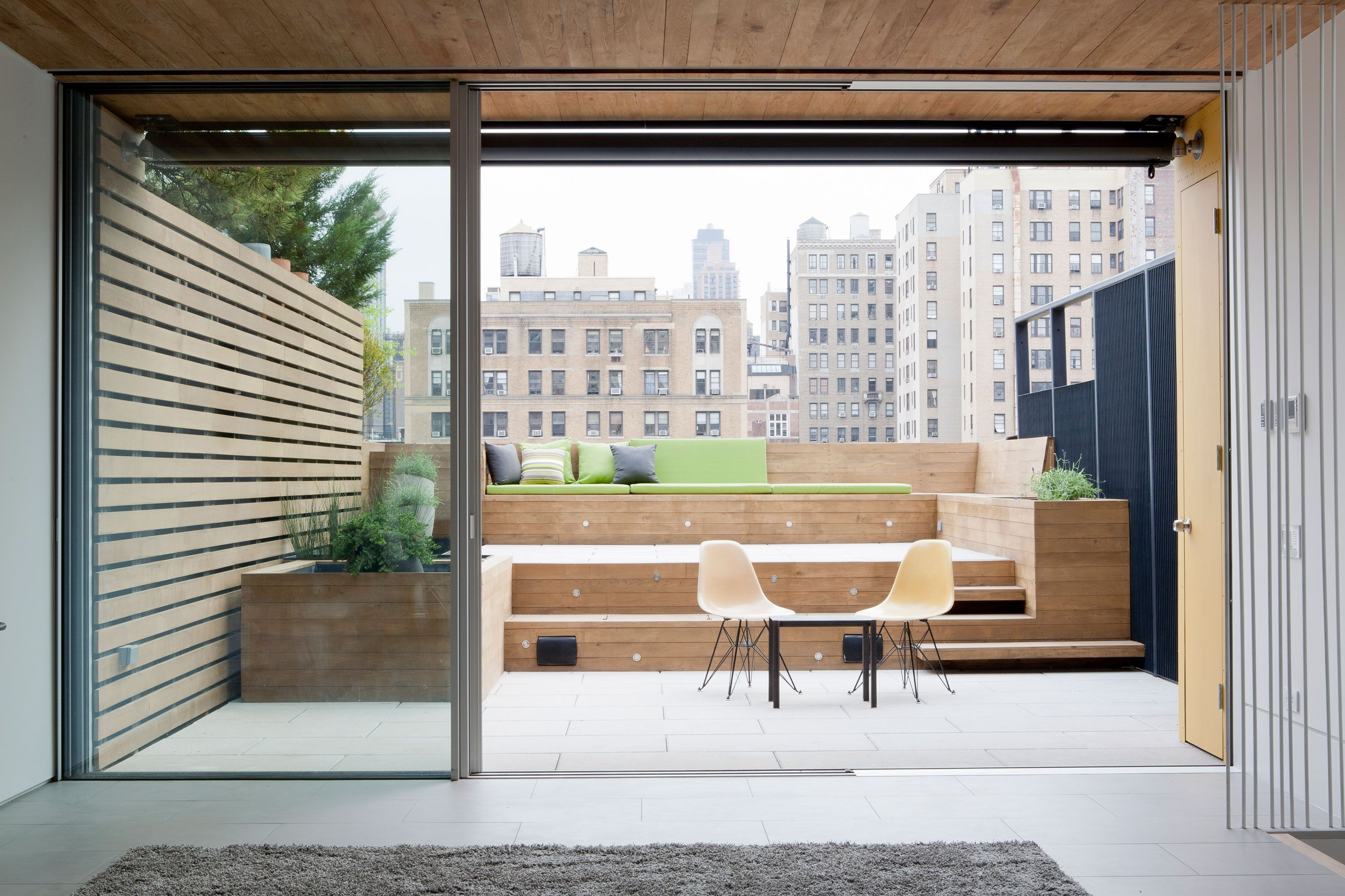 A Terrace Renovation That Turned Into Something Much Bigger: The final roof deck…