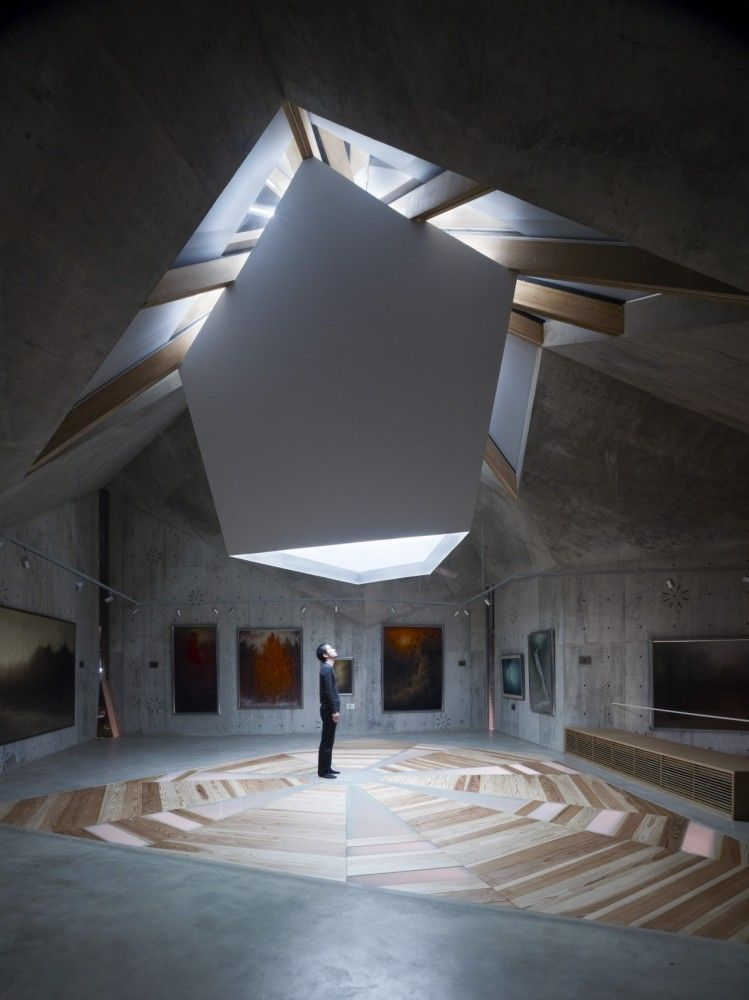 Mecenat Art Museum Naf Architect Design Visitors Of Museums
