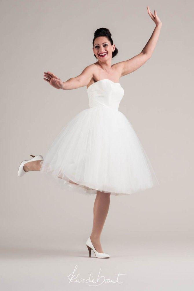 50er Jahre Tüll Hochzeitskleid   Wedding Outfit   Pinterest   Tüll ...