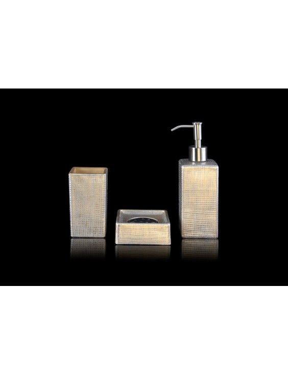 Coffret Accessoires Venice Distributeur Savon Cadeau Design