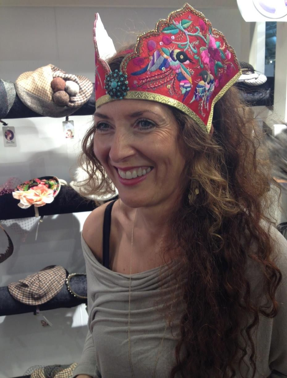 #antiqueembroidery #colourful #festivalheadwear #embroideredpanels