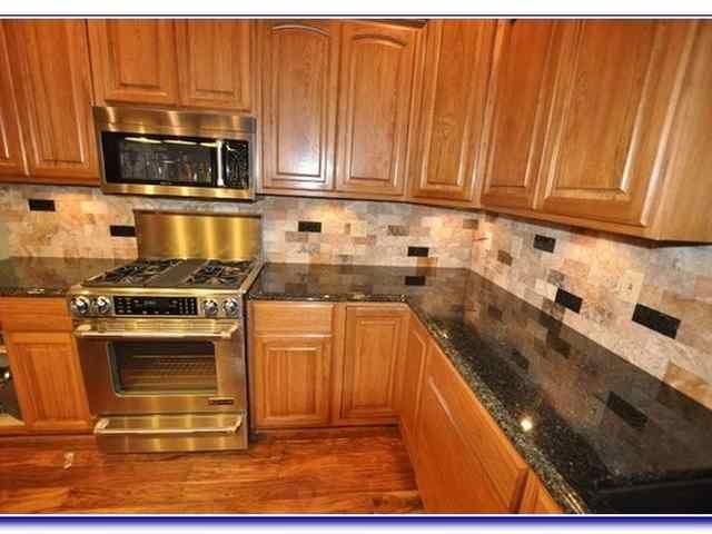 Best Kitchen Backsplash Ideas For Oak Cabinets Simple Kitchen 400 x 300