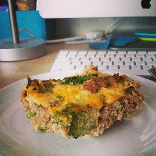 Broccoli pork frit tata.