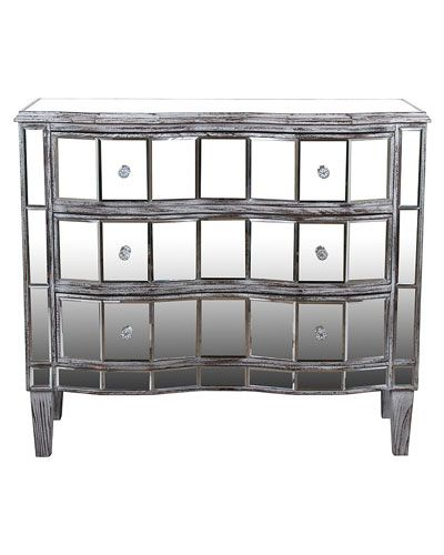 Reminiscent Of Old Hollywood Style, This Chic Mirrored Chest Adds A Touch  Of Glam To Your Master Suite Or Parlor. Product: ChestConstruction  Material: Wood ...