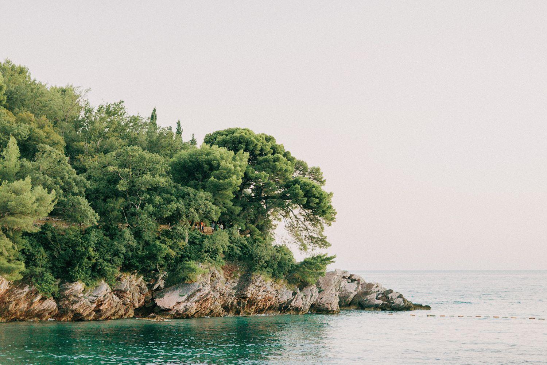 Milocer Park in Montenegro.