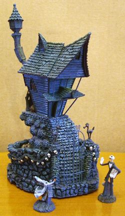 Jack's house with Jack Skellington & Zero ~ Tim Burton's Nightmare ...