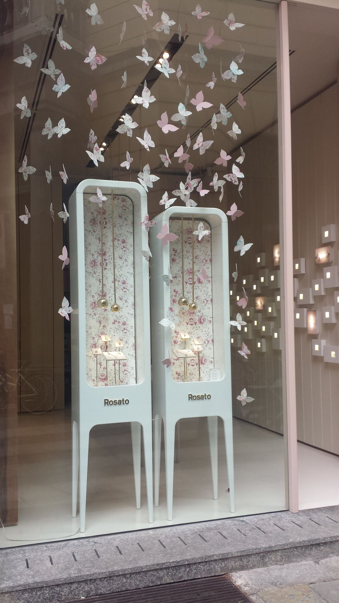 Window display ideas for jewellery  rosato jewellerymilan italy
