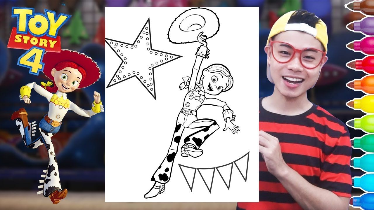 Woody Coloring Page Youtube Collection