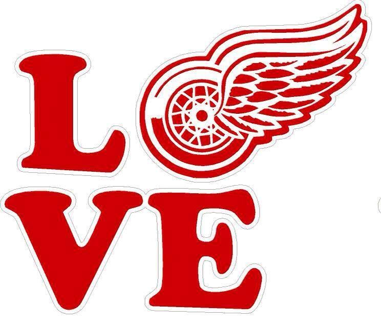 How Do You Spell Love Detroit Red Wings Pinterest Red Wing
