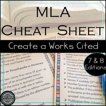 mla citation works cited research writing resource writing