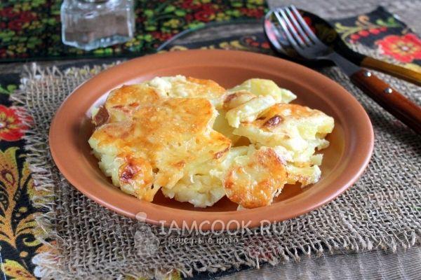 Картошка со сливками и сыром в духовке | Рецепт | Еда ...