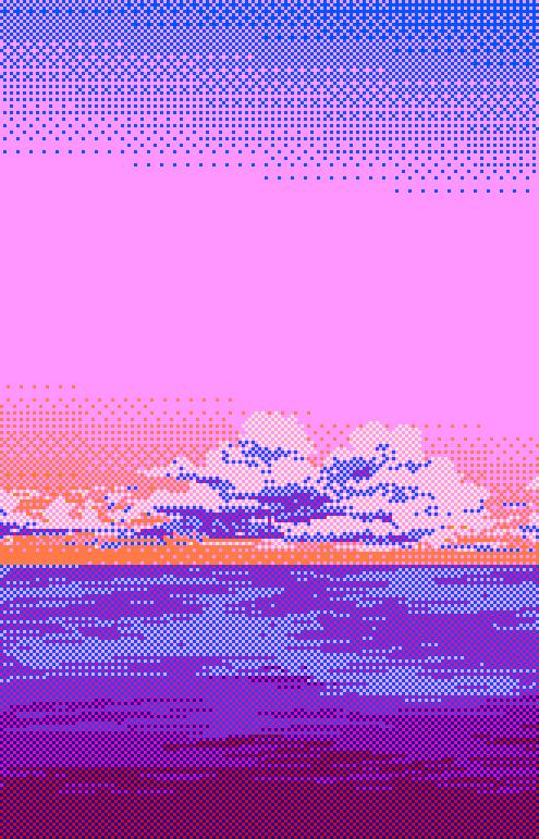 pixel scenery: Photo