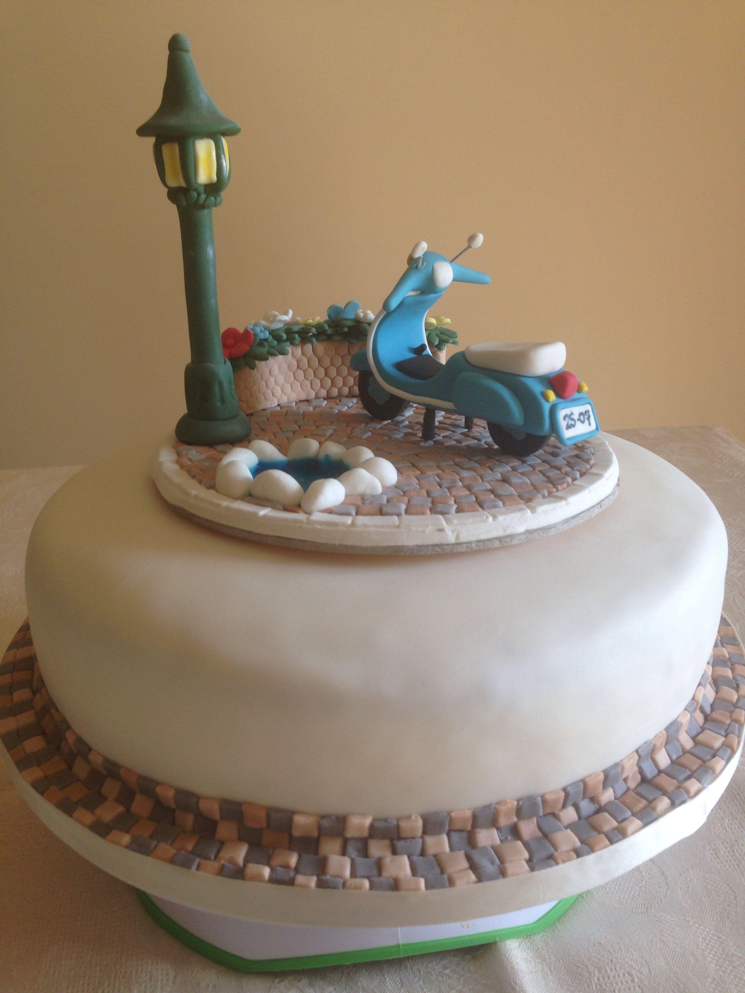 Torta compleanno maria