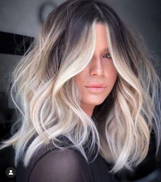 Balayage hair style ideas