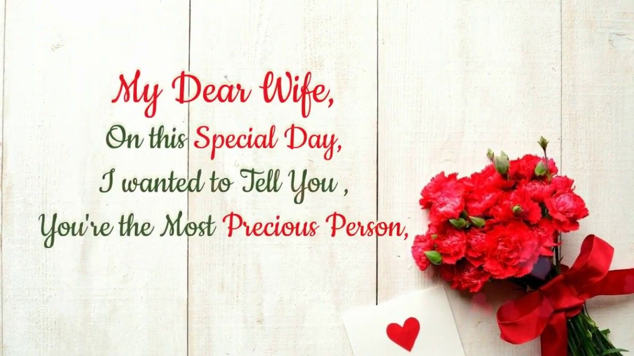 Wedding Anniversary Message to Wife from Husband