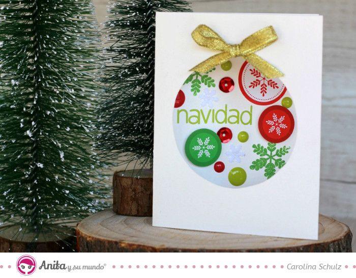Como hacer una tarjeta de navidad de manera fácil Christmas Time