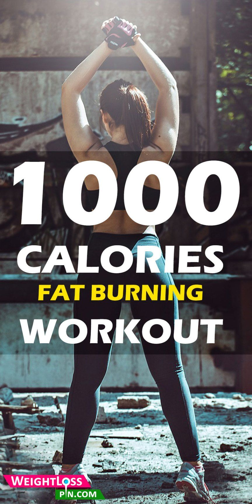 1000 Calories Workout Challenge at Home   1000 calorie ...