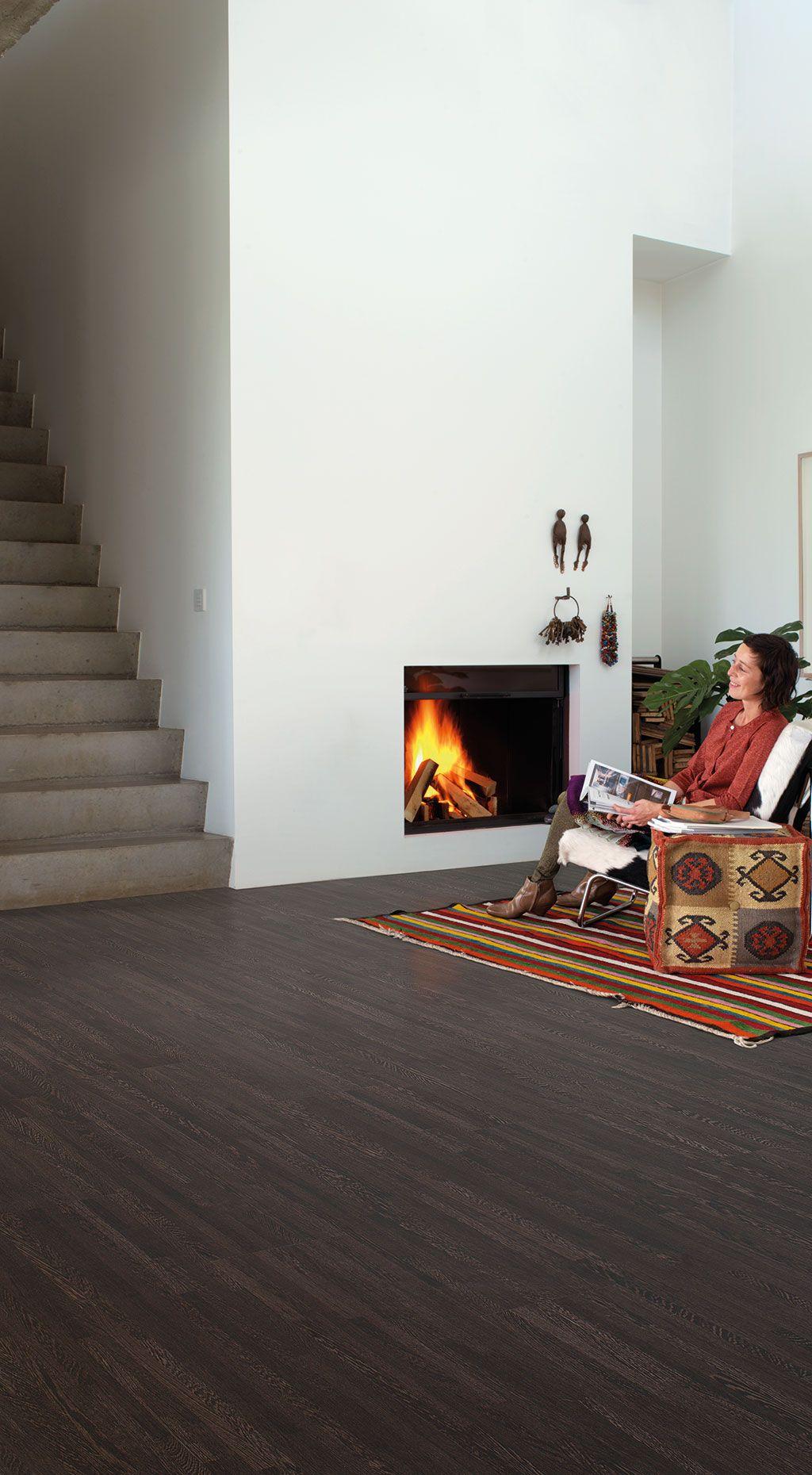 Quick-Step Creo laminate flooring - 'Wengé, 10 strip' (QSG047) - www.quick-step.com