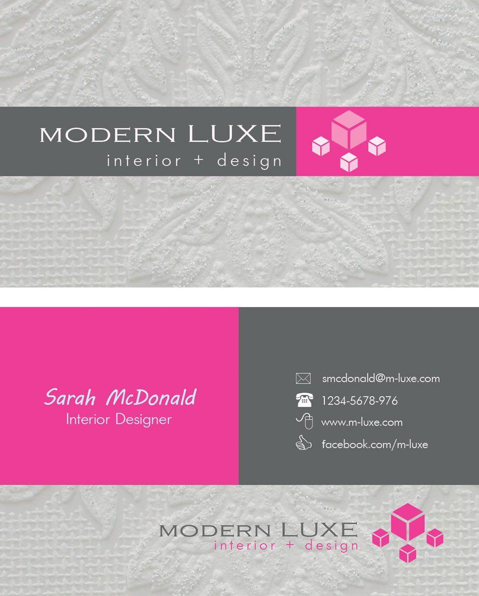 Modern interior designer business cards graphic design pinterest this is a roundup of beautiful free business cards psd you can find more than 100 free business cards below we can say this is one of the best of free colourmoves