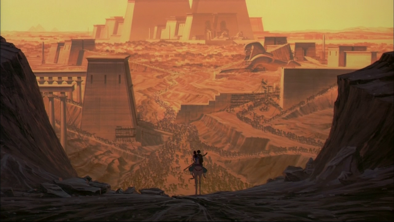 """The Prince of Egypt"" , Dreamworks, 1998 Egypt concept"