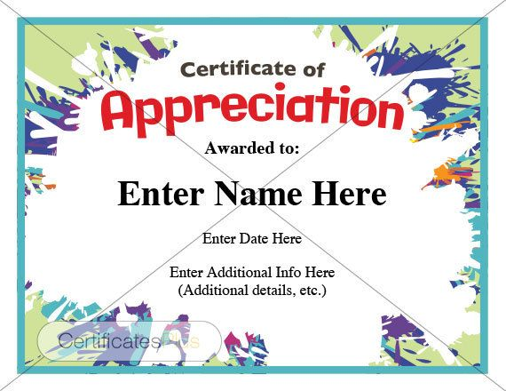 This Certificate Of Appreciation Looks Like Walt Disney Threw Up