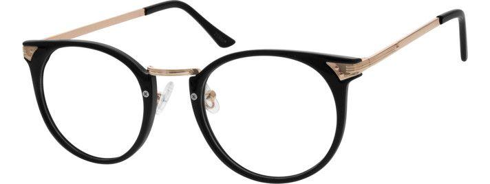 Eyeglass Frame Models : Sepulveda Round Eyeglasses 1125214 Models, Metals and ...