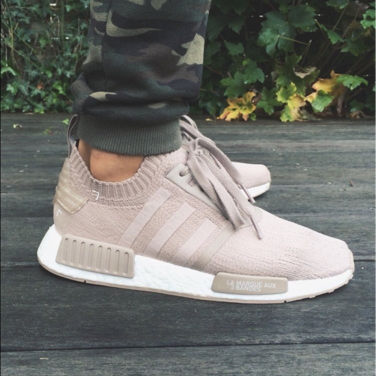 French Beige Adidas Originals NMD_R1 PK Adidas outfit