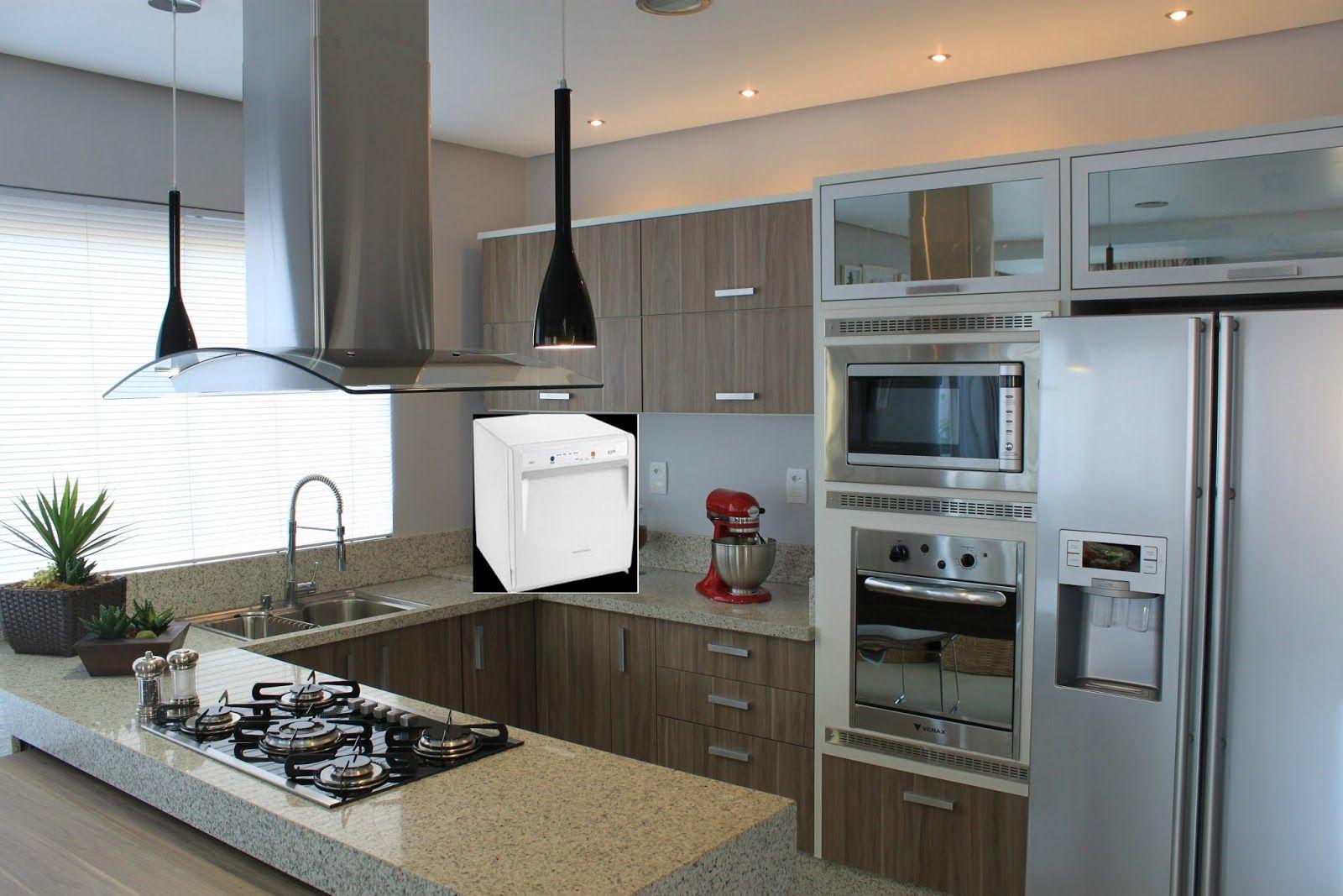 Cozinha Planejada Moderna Com Ilha Latest With Cozinha Planejada