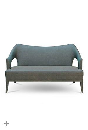 Nº 20 Modern Upholstered 2 Seat Sofa By Brabbu Contemporary Home Furniture Furniture Trends Elegant Living Room Furniture