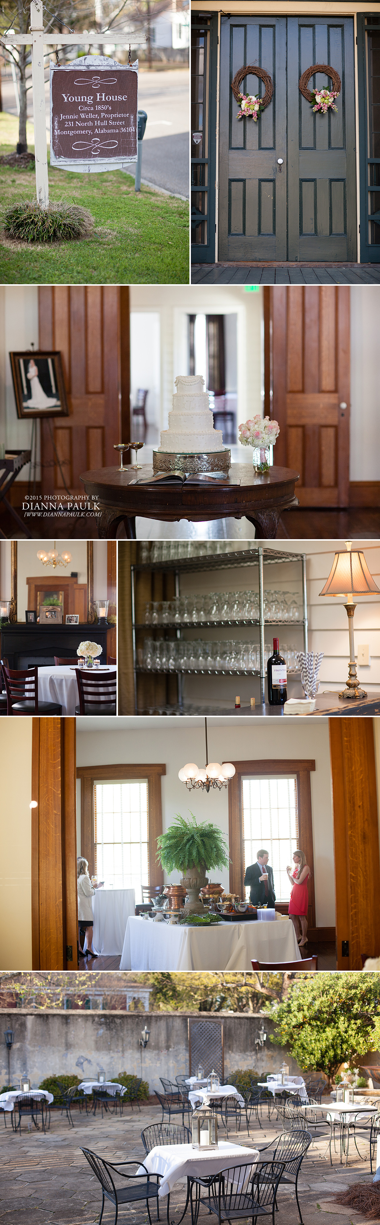 Wedding Reception Venue In Montgomery Al Young House Jennie Weller Proprietor
