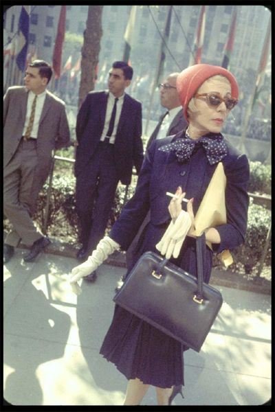 When I am old I'd like half the style of this woman.