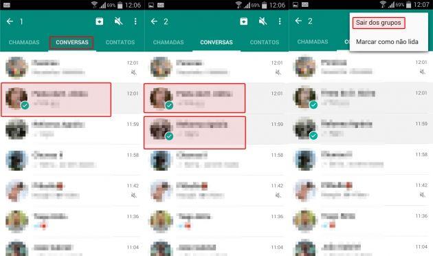 Aprenda a sair de vários grupos de Whatsapp ao mesmo tempo