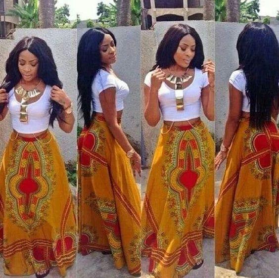 African Skirt Dashiki Skirt Ankara Print Dashiki Skirt For   Etsy #afrikanischerstil