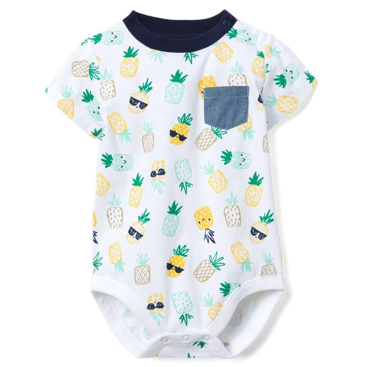 Toddler Infant Baby Kids Girls Pineapple Tops Shirt Pants Outfits Clothes Set