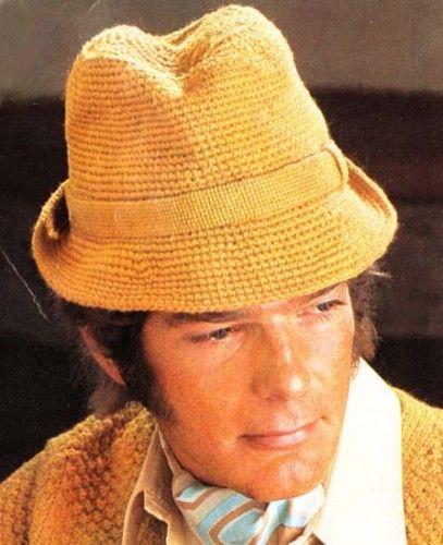 Mens Crocheted Fedora Crochet Hat Pattern Trying To Make One Kinda