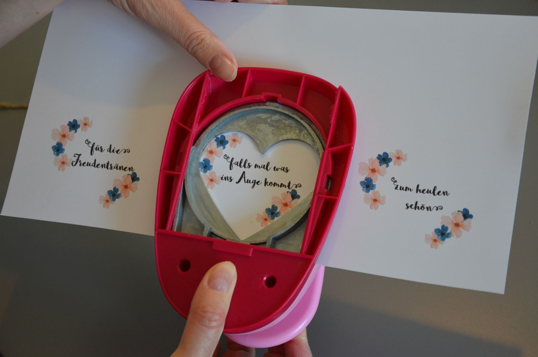 Taschentücher / Freudentränen selber basteln – DIY Hochzeit – Boda fotos