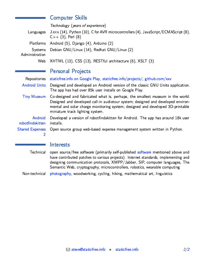 This Example Resume For Android Developer We Will Give You A Refence Start  On Building Resume.you Can Optimized This Example Resume On Creating Resume  For ...  Android Developer Resume