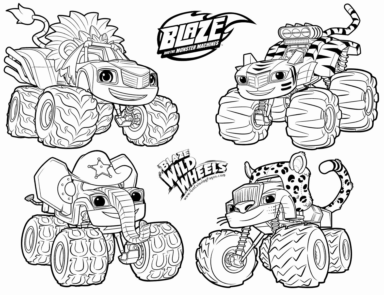 Blaze And The Monster Machines Coloring Page Best Of Blaze And The Monster Machines Coloring Pages Coloring Pages Unicorn Coloring Pages Tractor Coloring Pages