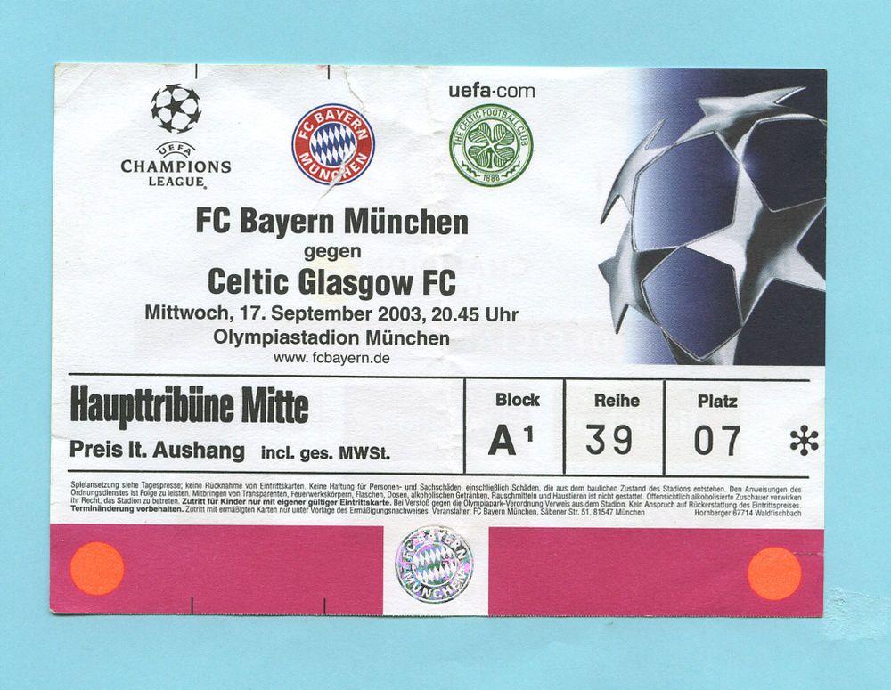 Bayern Tickets Champions League