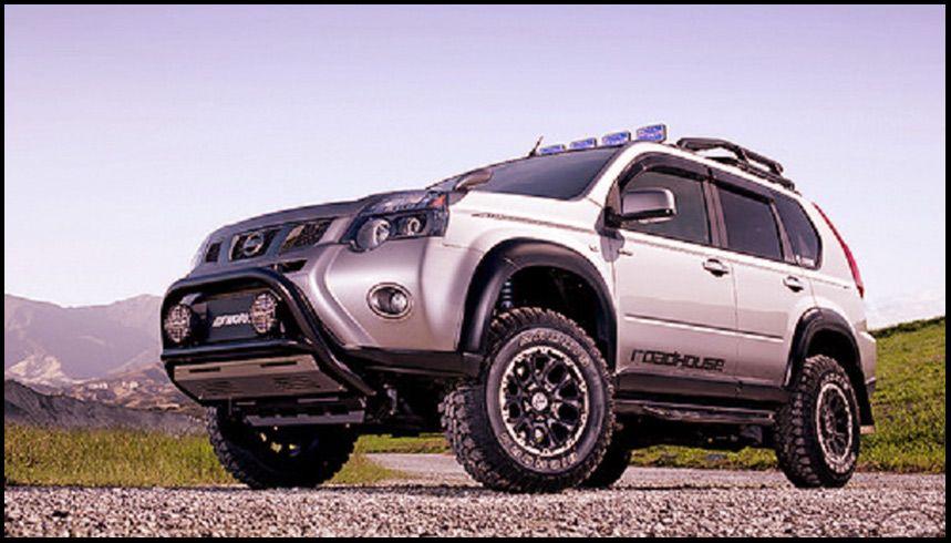 modifikasi nissan x trail 2015   pathfinder   nissan ... nissan xtrail offroad modified  #3