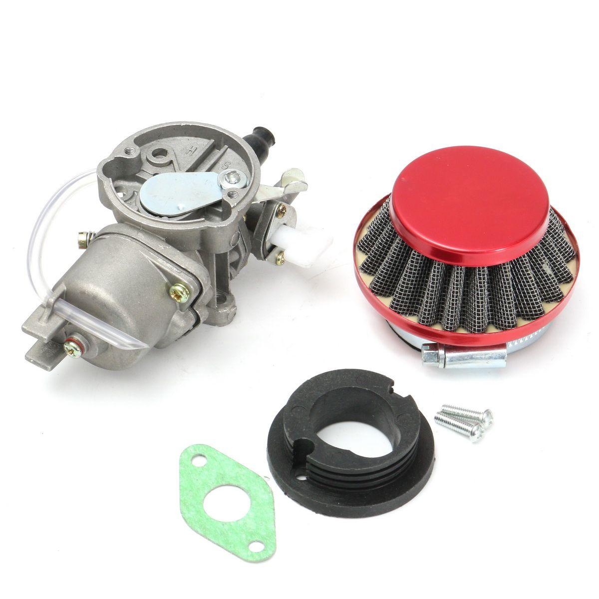 Carburador Carb Filtro de ar para 47cc 49cc Mini Moto ATV