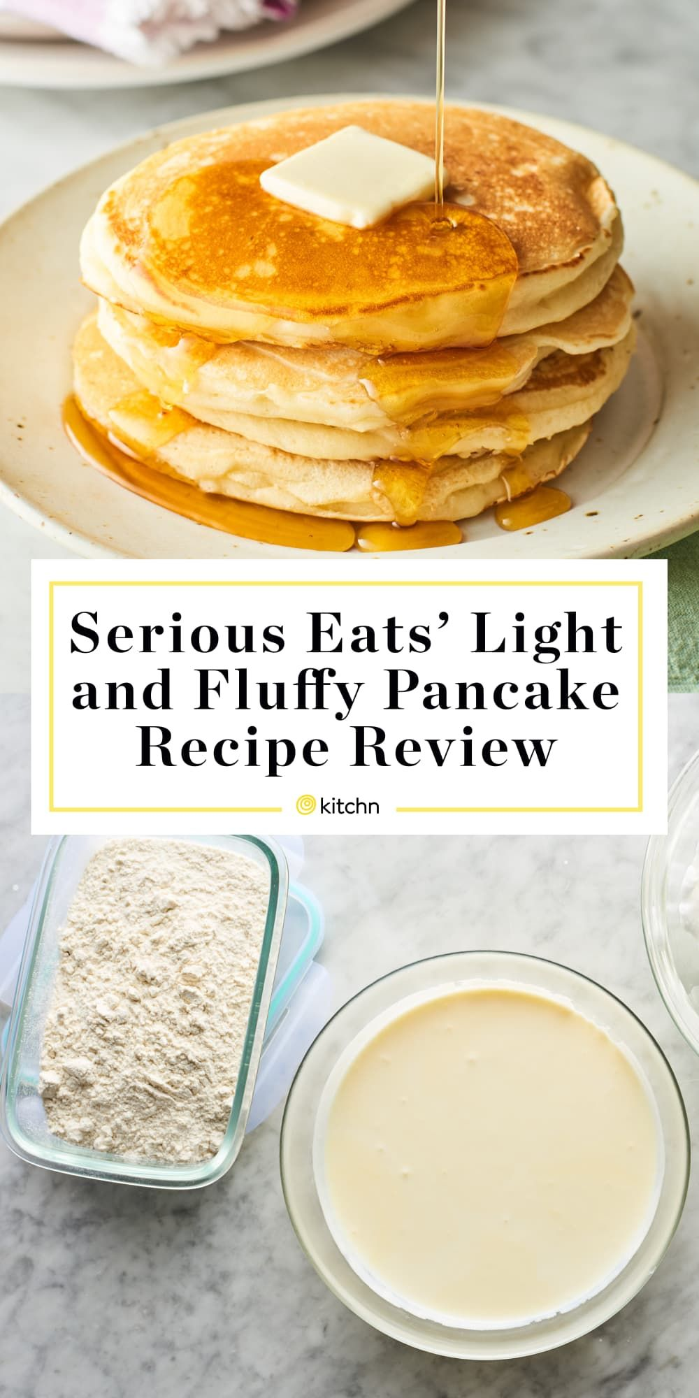 Serious Eats' Light and Fluffy Pancake Recipe Is Worth the Hype