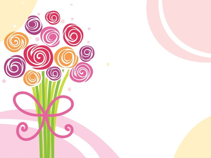 Download Flower Bouquet Powerpoint background is ready to use for ...