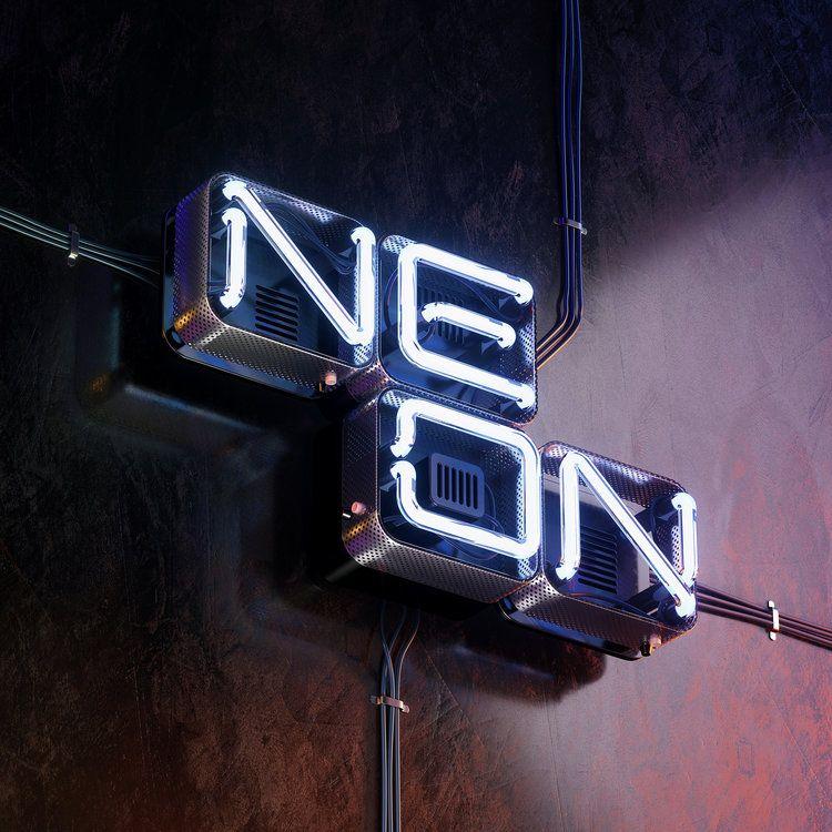 Neon Type — BÜRO UFHO — Delightful Brand Solutions.™