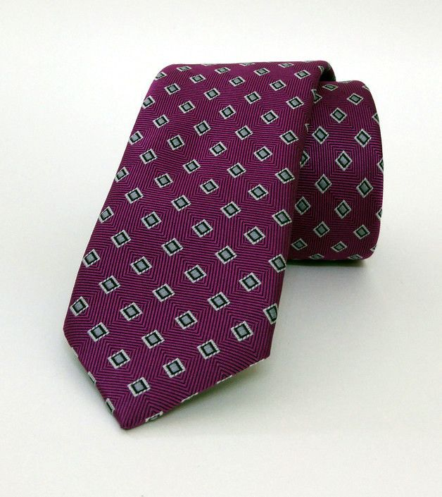 Purple Mens Tie 6 cm (2,36 #handmadeatamazon #nazodesign