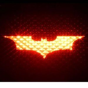 Batman Brake Light cover!!