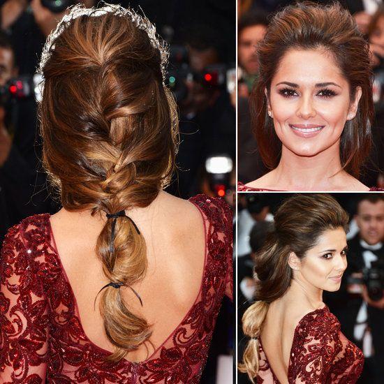 Cheryl Cole Wedding Hairstyle: Braided Hairstyles, Hair Styles