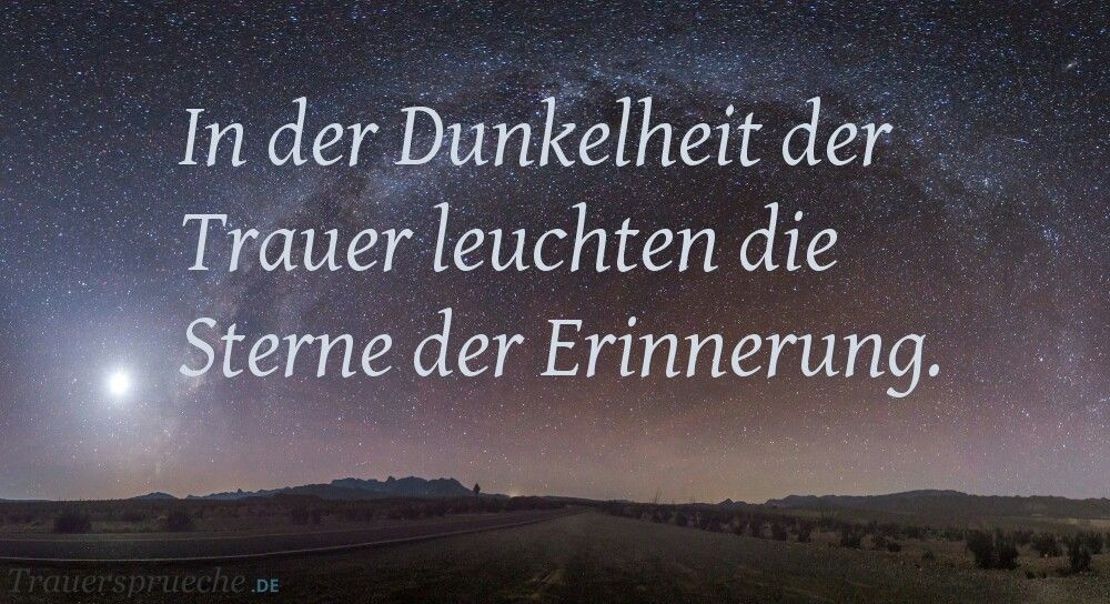 Spruch Todesfall