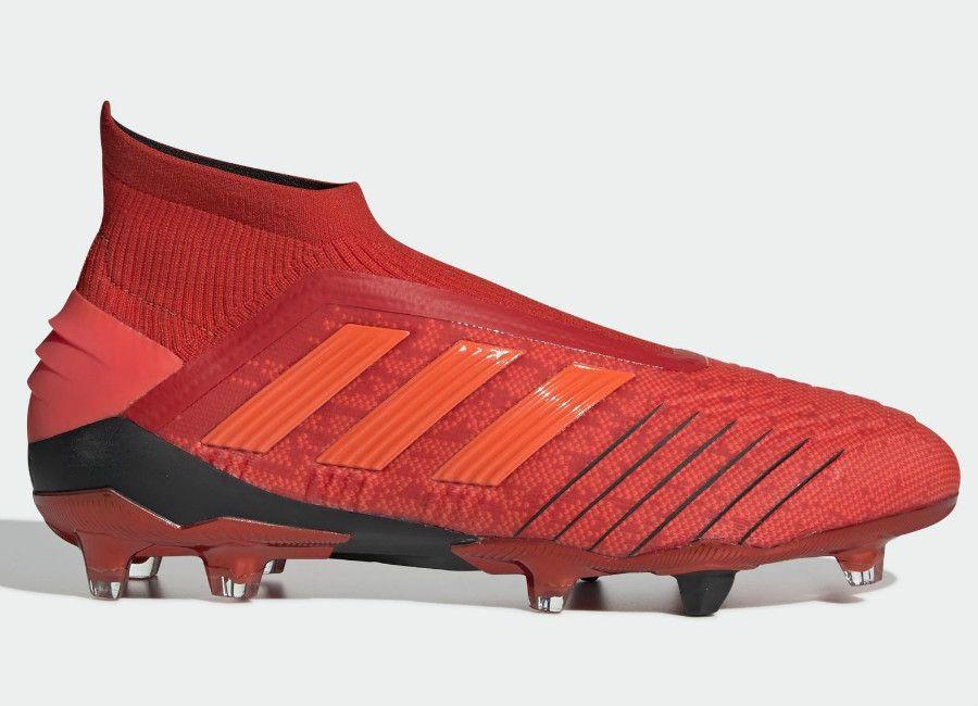 Adidasfootball Footballboots Adidas Predator 19 Fg Initiator Active Red Solar Red Core Black Adidas Predator Football Boots Adidas Football
