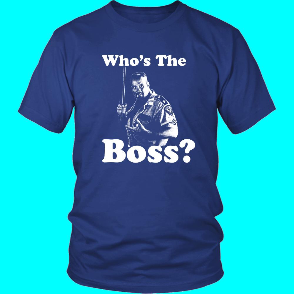 Big Bossman Who S The Boss T Shirt T Shirt Wrestling Shirts Shirts